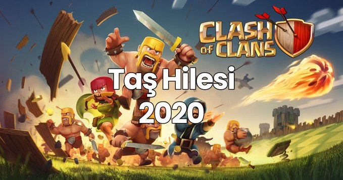 Clash of Clans Taş Hilesi 2021
